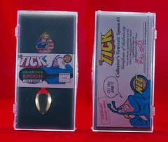 THE TICK AMERICAN MAID SPOON GOLD
