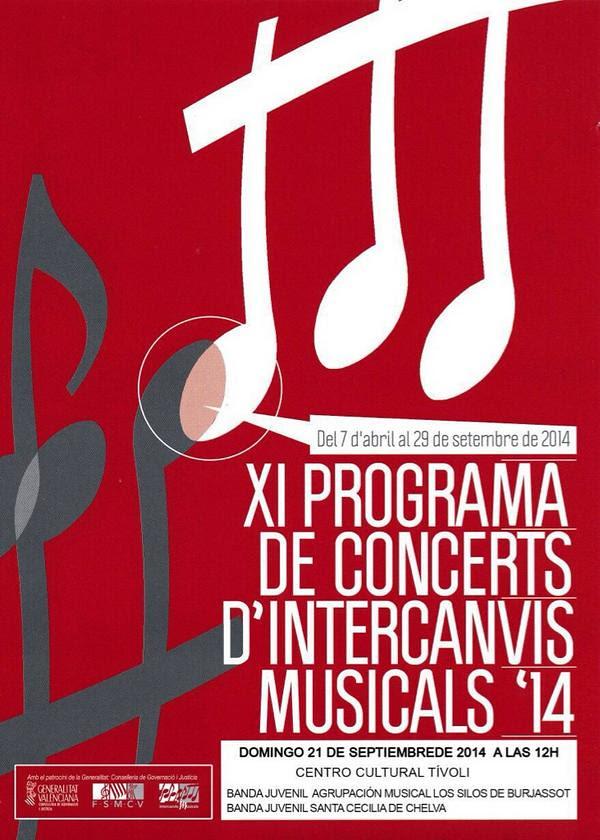 Concierto banda juvenil Burjassot 2014