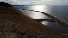 Looking south along Ebey Bluff