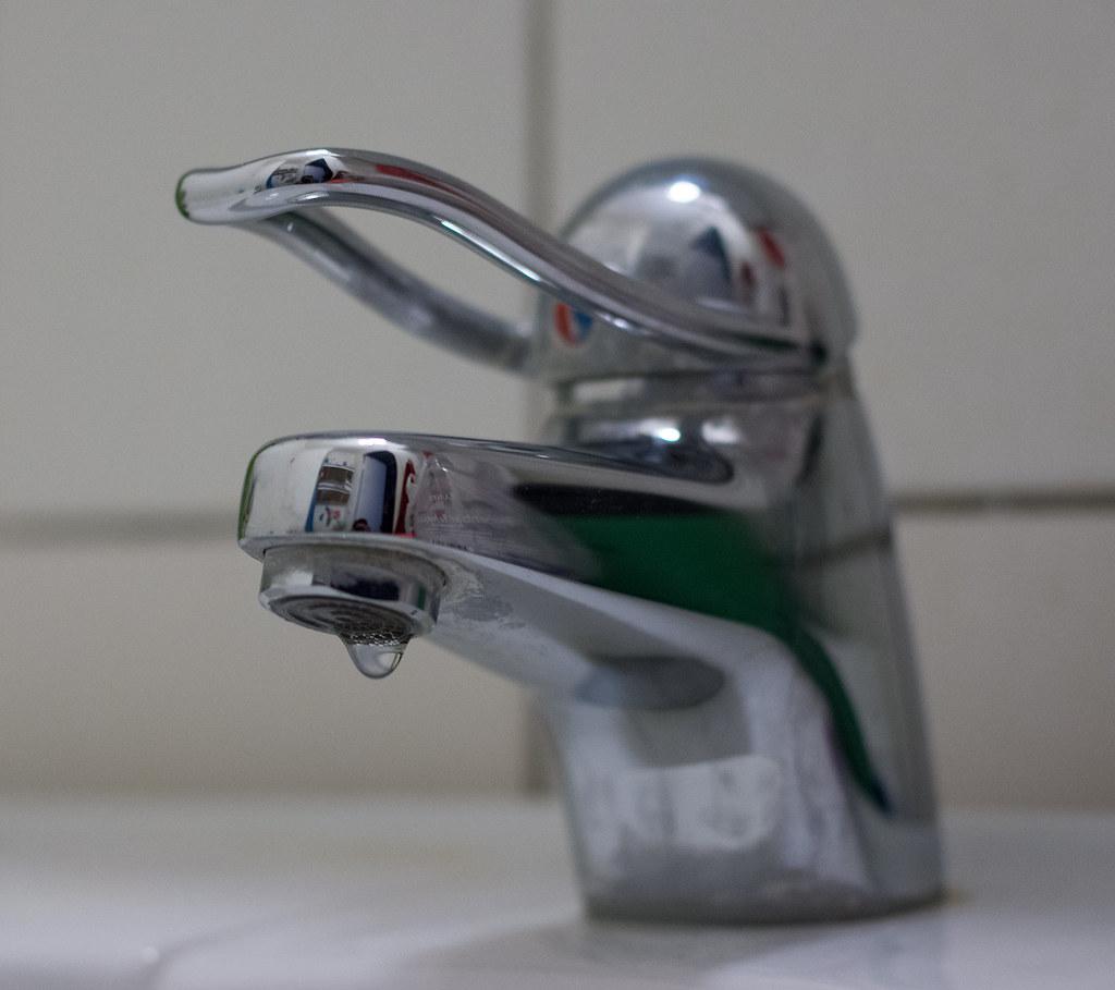 Dripping Bathroom Faucet
