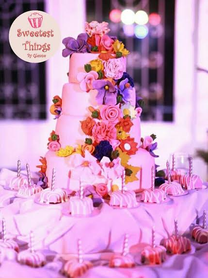 The Debutante's Floral Cake by Glenne Ocampo from Sweetest Things By Glenne