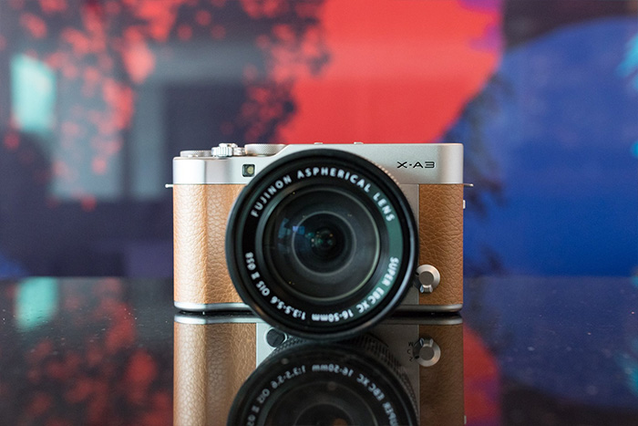 Fujifilm X-A3 Caramel Brown Limited Edition