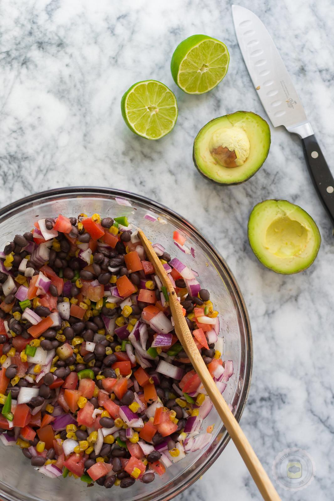 Southwestern Black Bean and Roasted Corn Salad MP