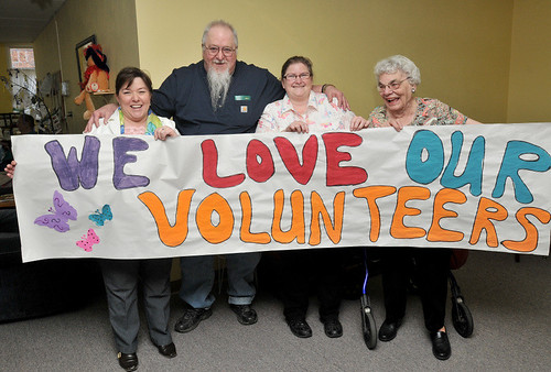 Oak Place SR Ctr Volunteers 2014