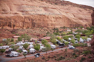 Goulding's Campground in Monument Valley