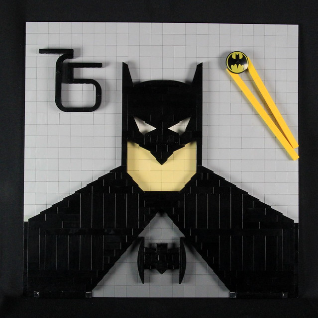 Batman 75th Anniversary Mosaic