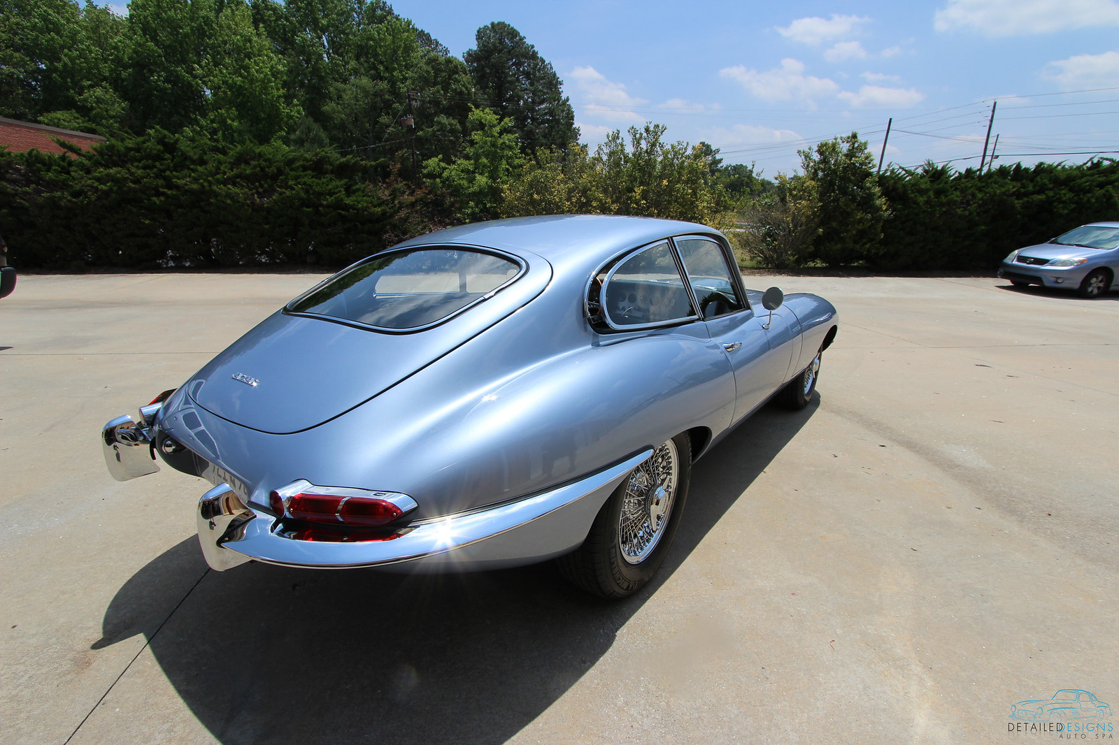 Jaguar E-Type Detailed Detailed Designs Auto Spa