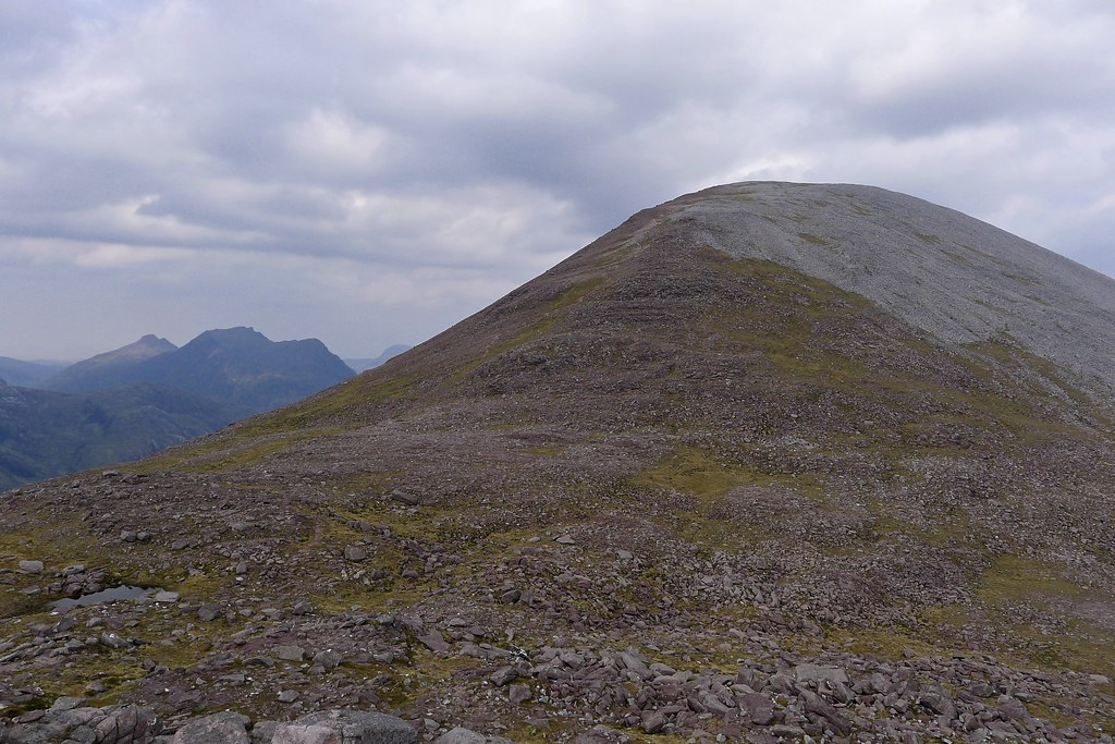 Southern slopes of Sgurr Ban