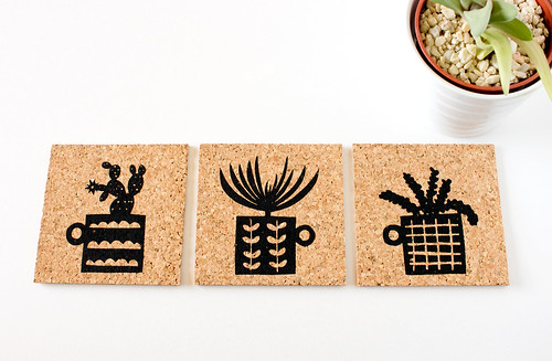 New Cards and Coasters by Vitamini