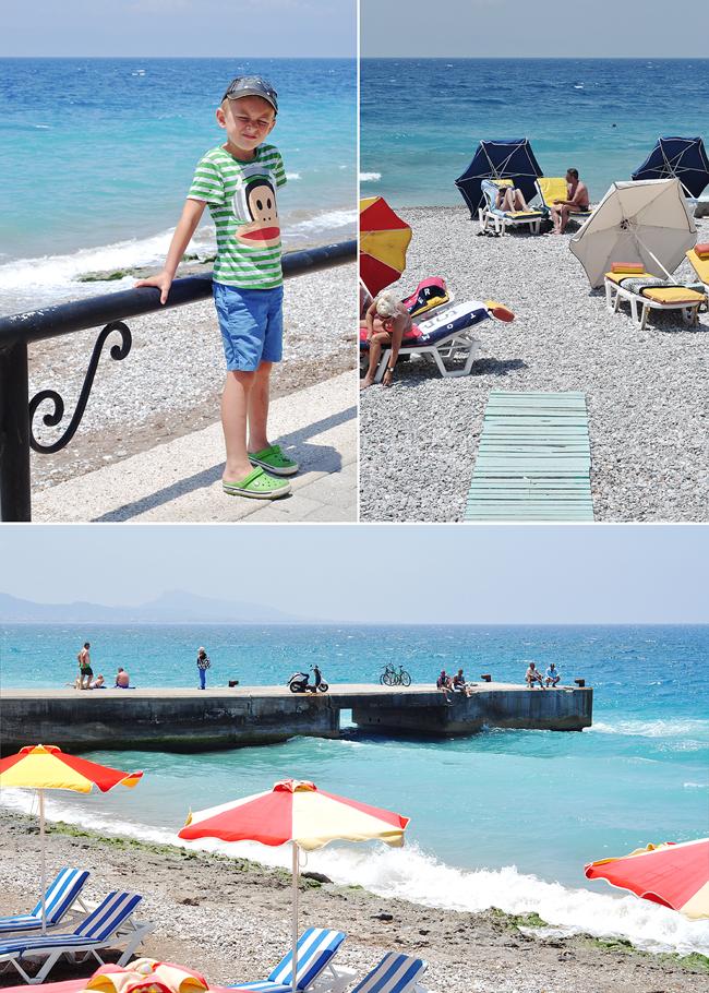 strandpromenaden Rhodos
