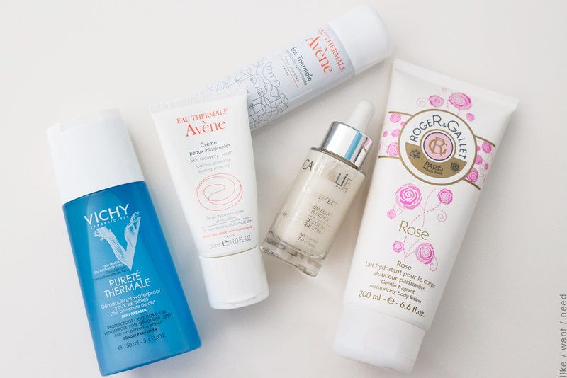 Favorite French Pharmacy Products