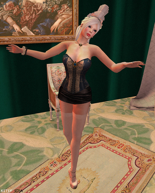 Genre - Madame de Pompadour (New Post @ Second Life Fashion Addict)