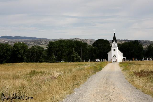 Montana Elkhorn St John Catholic Church_feistyharriet_July 2014