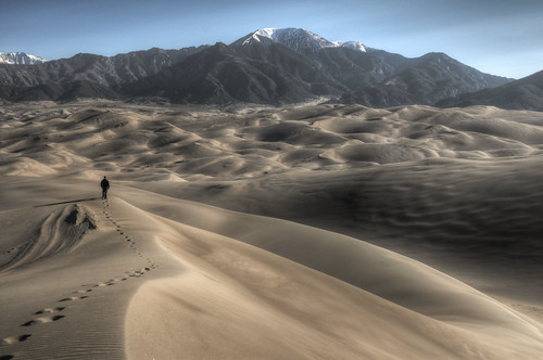 High Dune, Great Sand Dunes National Park HDR
