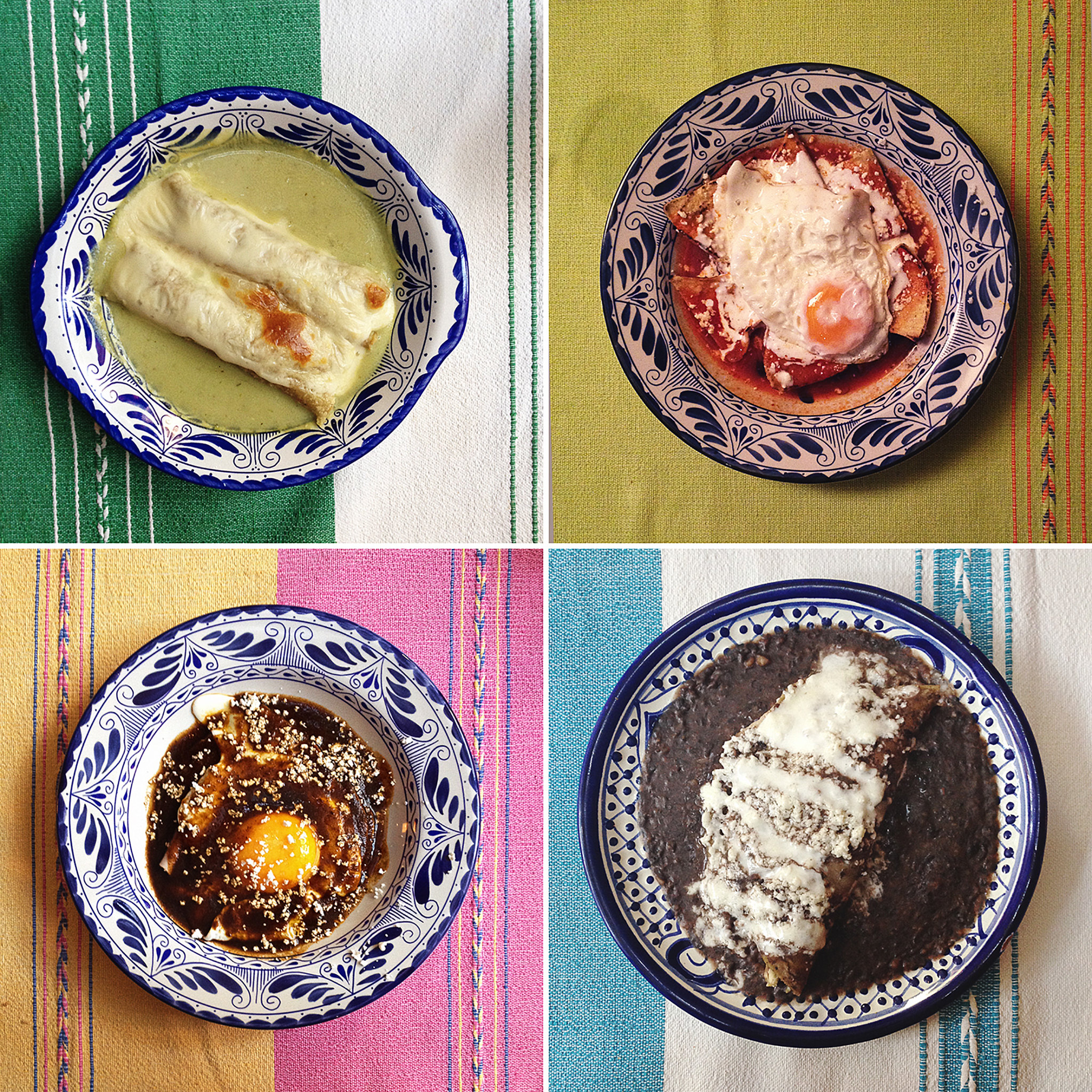 Breakfasts at The Red Tree House in Mexico City