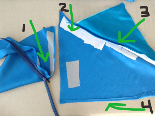 silk iinterfacing tests