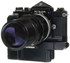 Nikon F with MD36