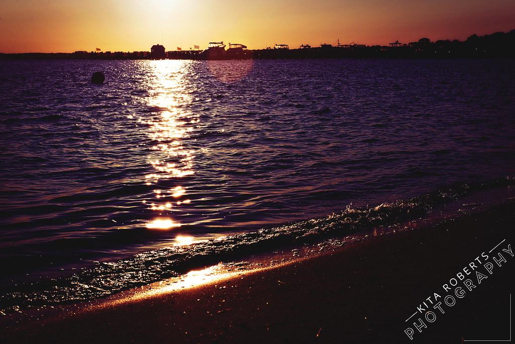 Sunrise in Cambridge Maryland at Hyatt Regency Chesapeake Bay | Photo by KitaRobertsPhotography.com