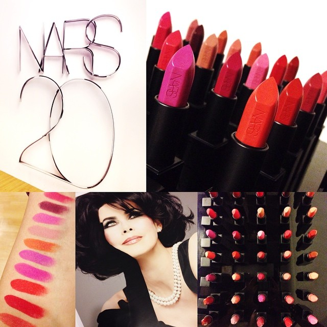 In celebration of its 20th Anniversary, @narsissist pays tribute to its beginnings with the launch of The Audacious Lipstick Collection I've always been a fan of NARS lip products, these take all of that to a whole new level!   40 brand new colors, new ul