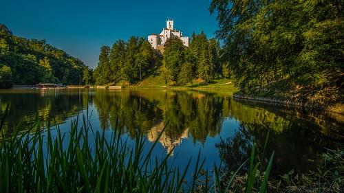 castles lakes croatia trakošćan lakecastle nikond600 laketrakošćan castletrakošća