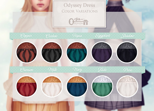 Odyssey Dress - Color Variations