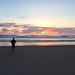 Sonnenuntergang in Newport
