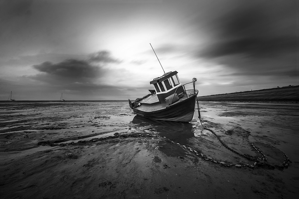 Fishing Boat Meols beach