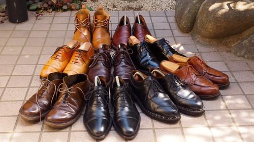 ある営業マンの靴 全員集合