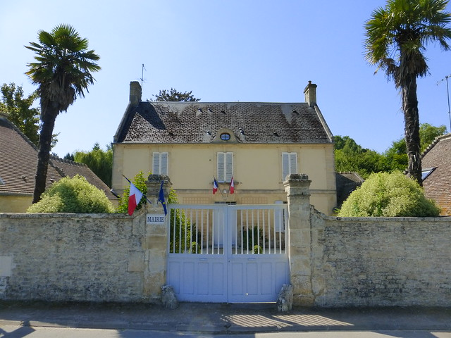 066 Mairie d'Amblie, Calvados