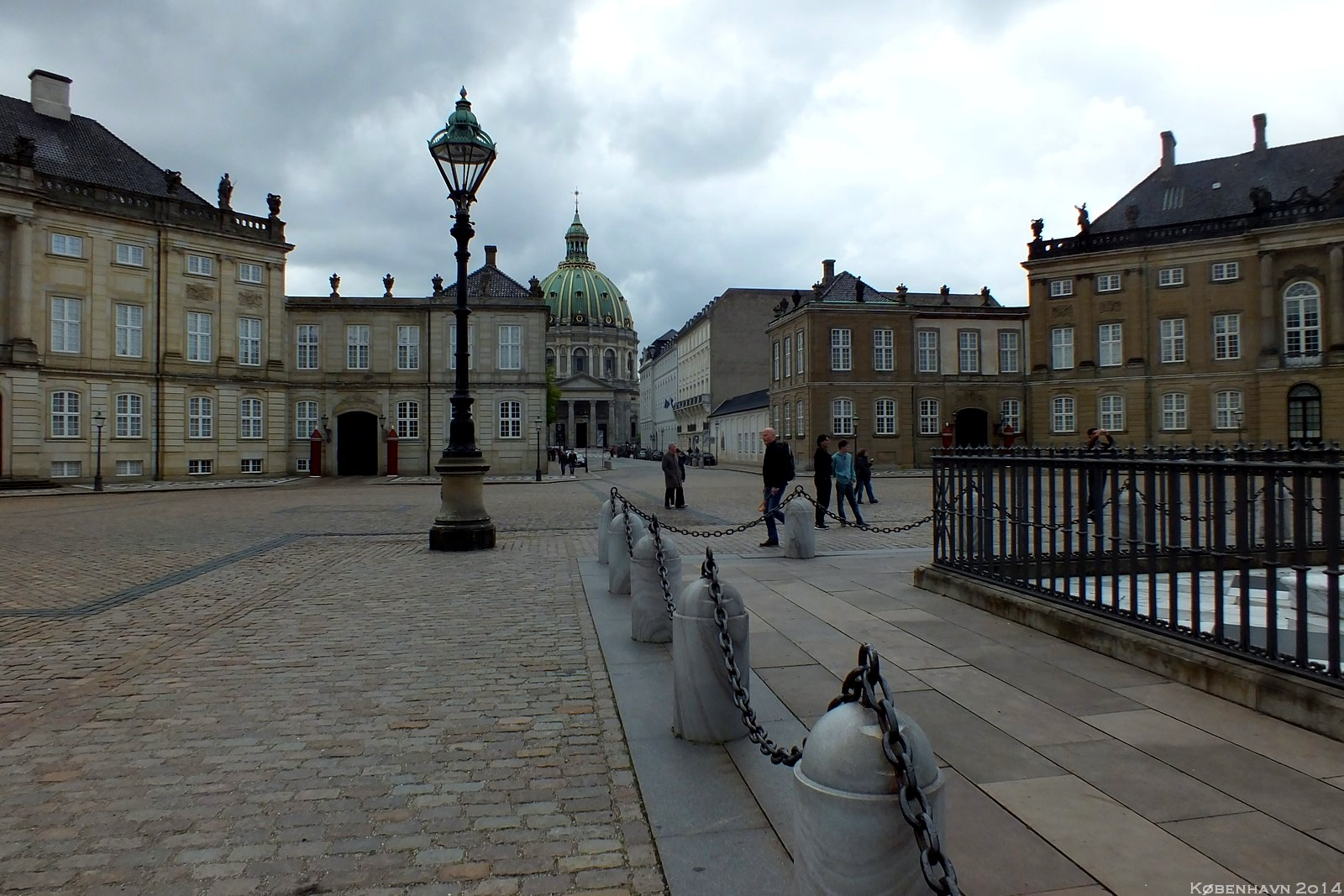 Amalienborg and Marmorkirken, København, Denmark
