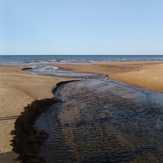 Stream running to the sea, Stanhope #princeedwardisland #pei #princeedwardislandnationalpark #peinationalpark #stanhope #beaches