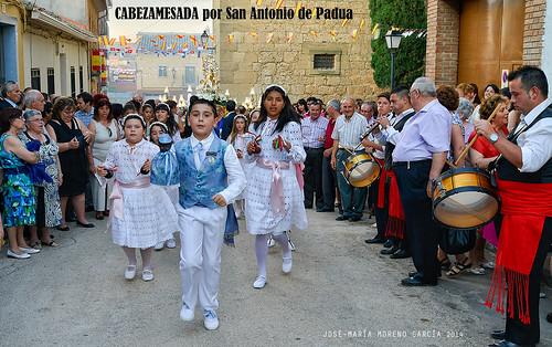 CABEZAMESADA por San Antonio de Padua