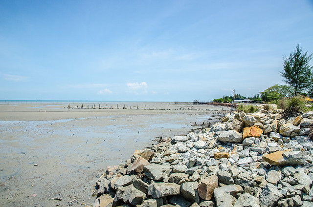 A view from the Lover's Bridge, Tanjung Sepat