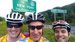 Three amigos reunited to repeat our 2010 pre-PMC ride from New York to Sturbridge.