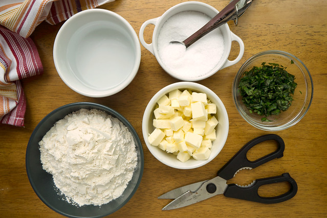 herbed pate brisee ingredients