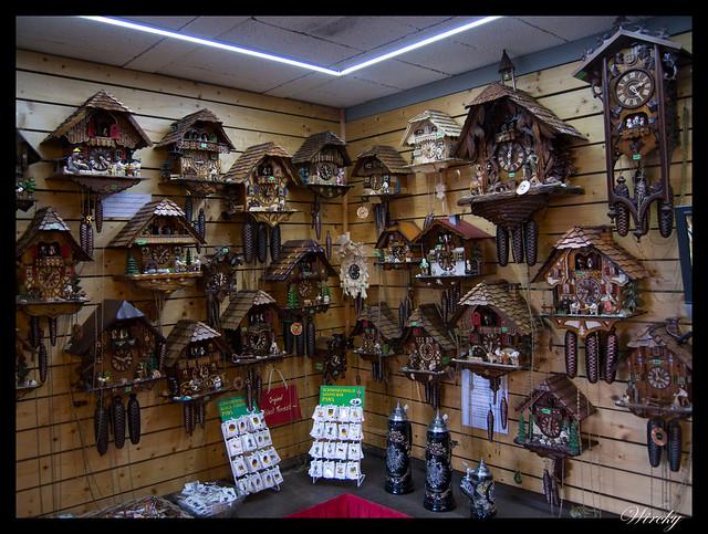 Tienda de relojes de cuco