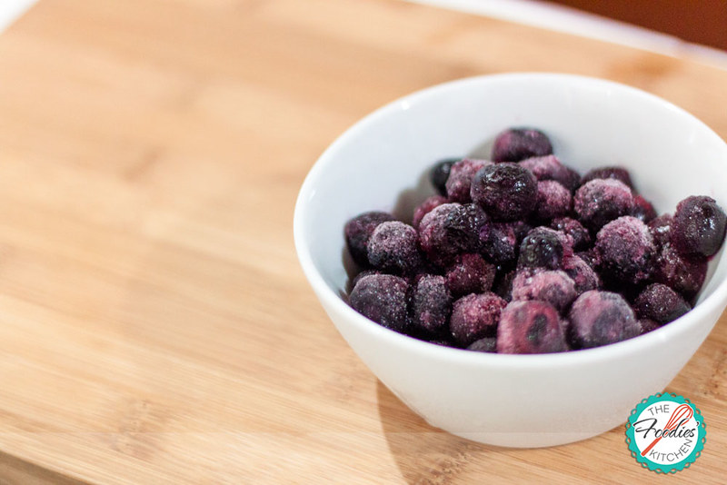 Strawberry & Blueberry Frozen Yogurt