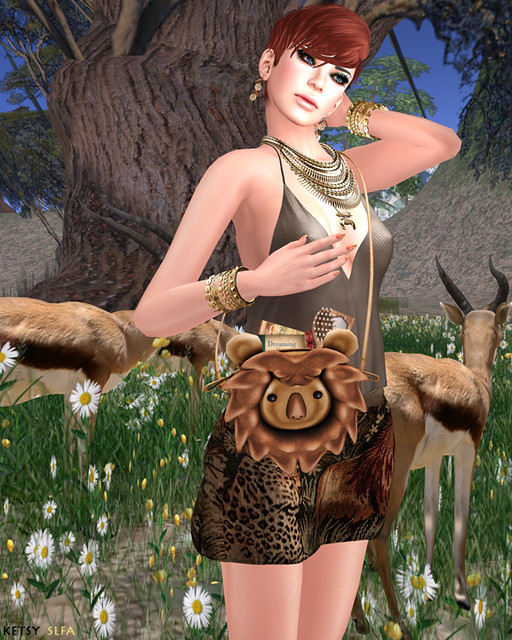 Hair Fair - Predator Or Prey (New Post @ Second Life Fashion Addict)