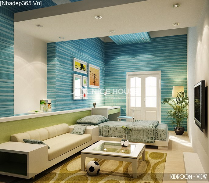 Thiết kế nội thất căn hộ Hàng Trống - Hà Nội_06