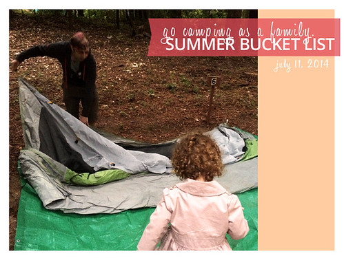 2014 Summer Bucket List: Go Camping as a Family