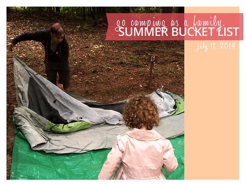 2014 Summer Bucket List: Go Camping as a Family