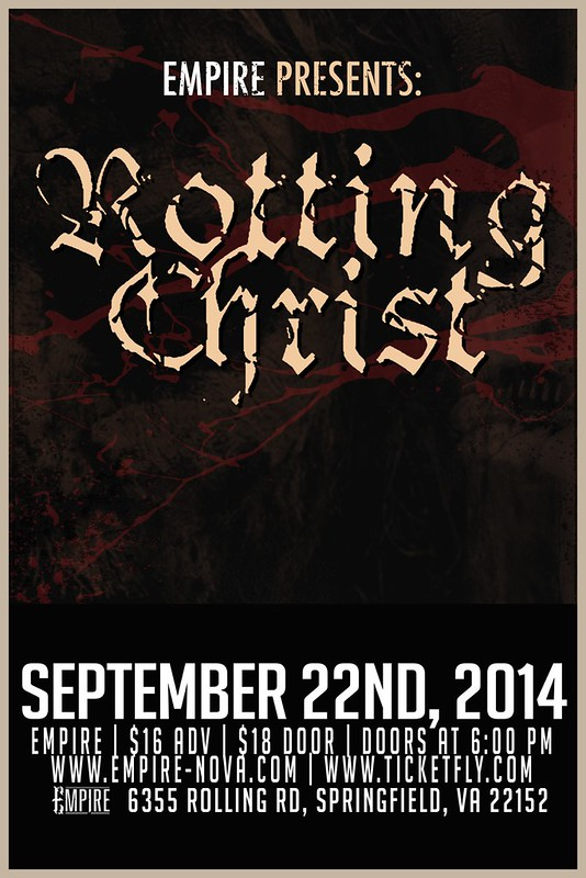 Rotting Christ at Empire