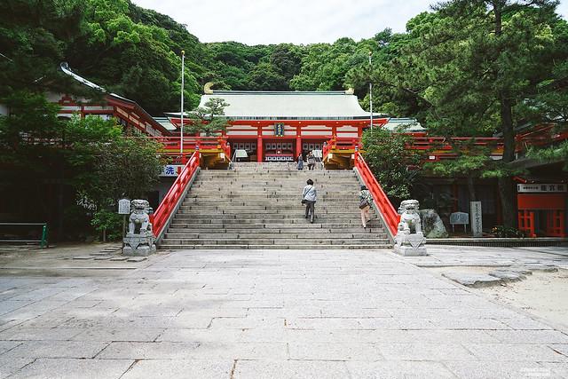 赤間神宮 拝殿