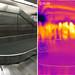 Specular IR reflection on an optically diffuse surface by Matt Blaze