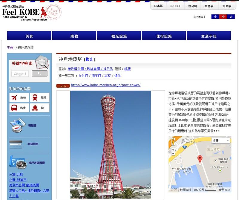 神戶港燈塔[眺望  神戶正式觀光網站 FeelKOBE