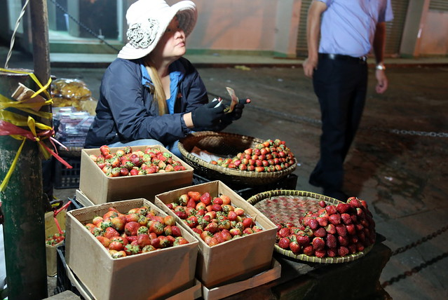 Da Lat is also famous for strawberries