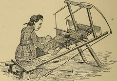 """Image from page 207 of """"Yarn and cloth making; an economic study; a college and normal schools text preliminary to fabric study, and a reference for teachers of industrial history and art in secondary and elementary schools"""" (1918)"""