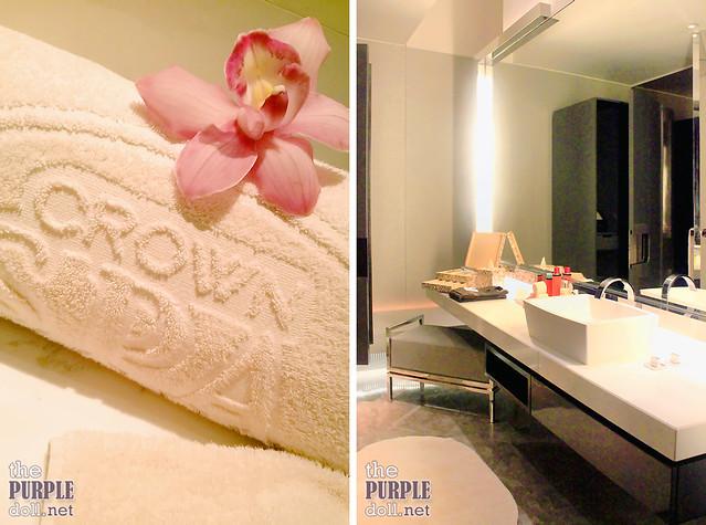 Private Bathroom at Crown Spa