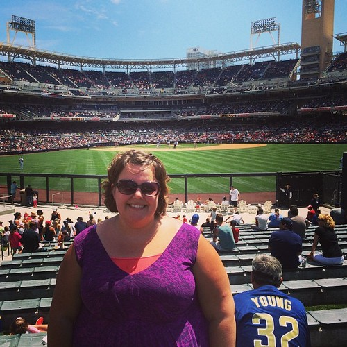It's hot as hell here in #sandiego and I am loving it. #mlb #baseball #sdpadres #petcopark #parkinthepark #kategoestocalifornia