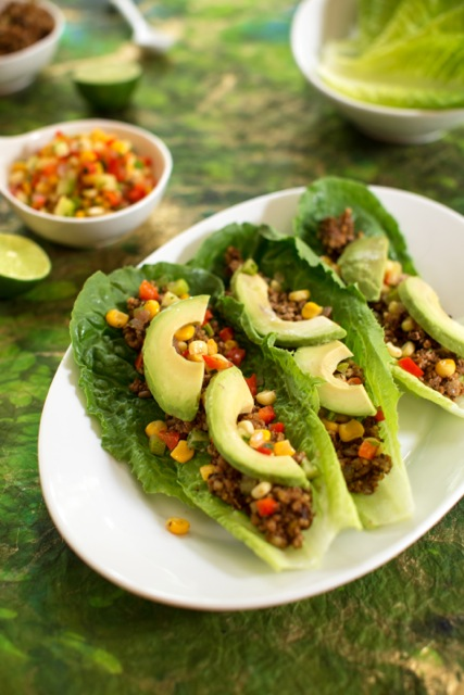 Vegan Heat Free Lentil and Walnut Tacos